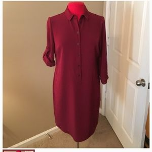 The Limited Dresses - The limited outback red shirt dress